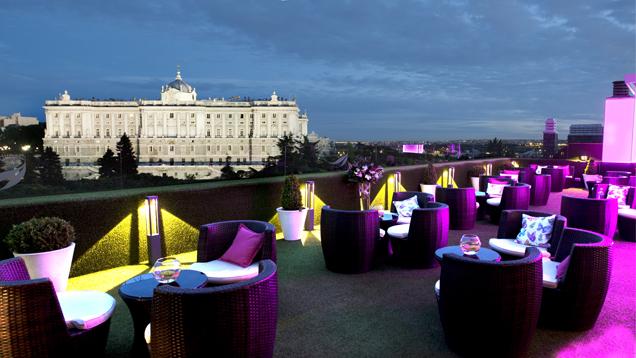 La terraza de sabatini se al a con el chef juan pozuelo for Hotel jardines sabatini