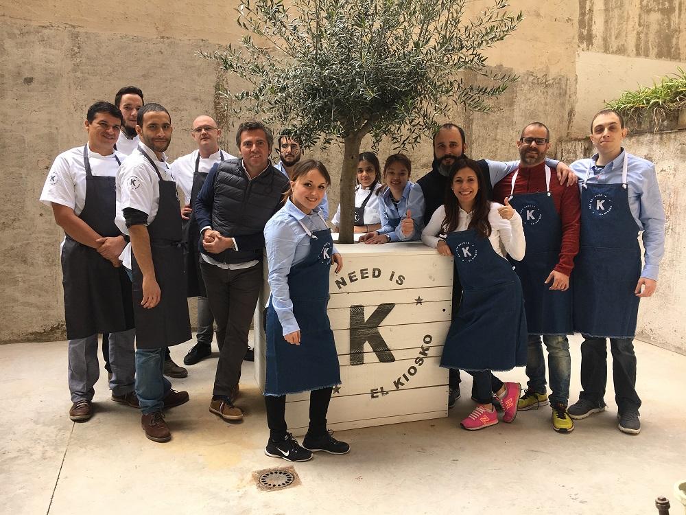 El Kiosko Barcelona equipo