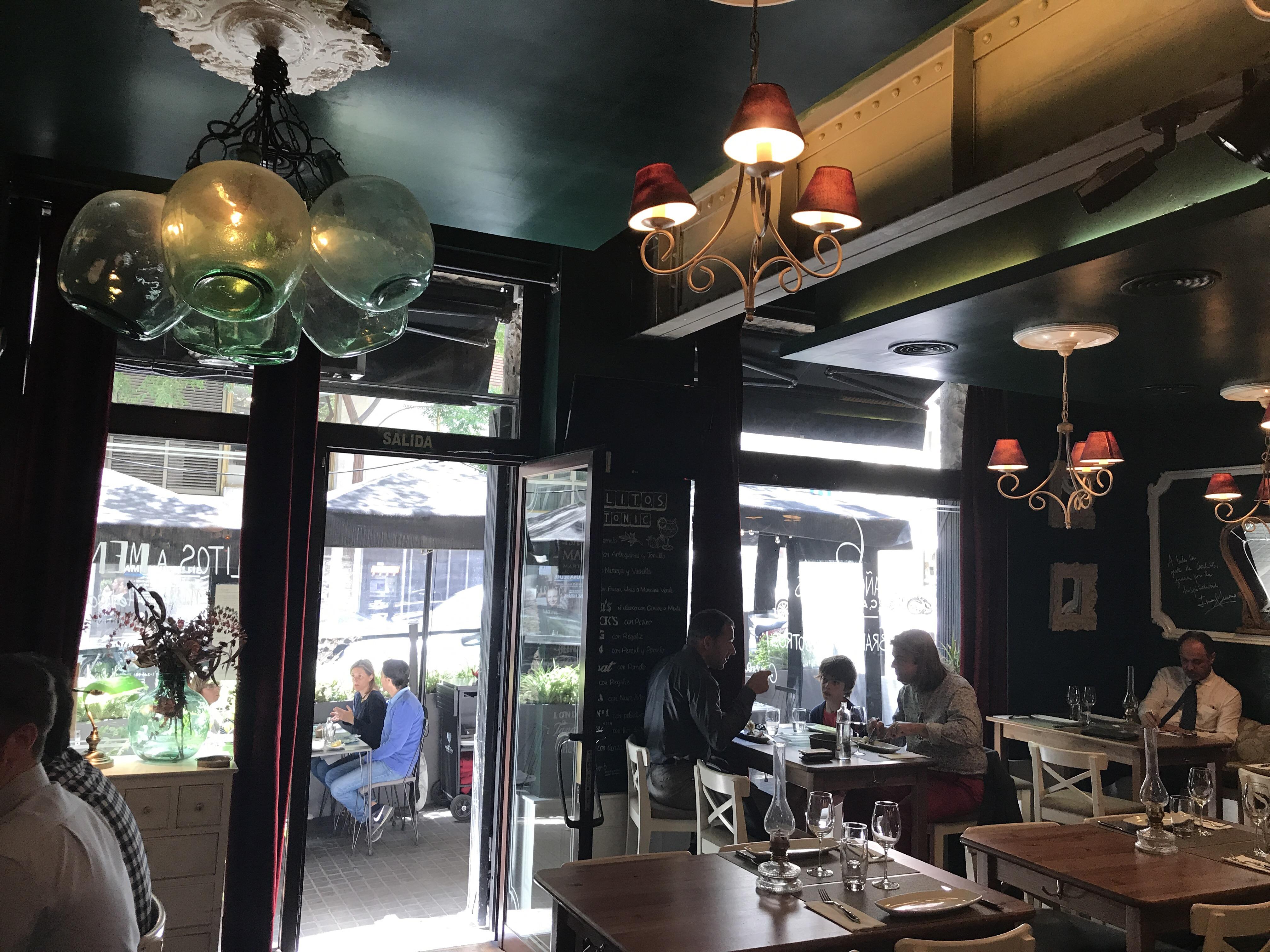 Restaurante carlitos pasi n por el producto en la zona - Zona alta barcelona ...